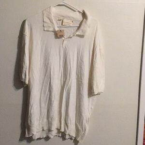 Pure DKNY tee shirt white cotton.